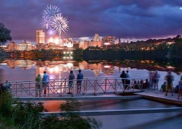 FritzImages | Fourth of July Fireworks in Albany NY | image name = FIF 20140704 754 NY July 4th Albany IOP 260x185