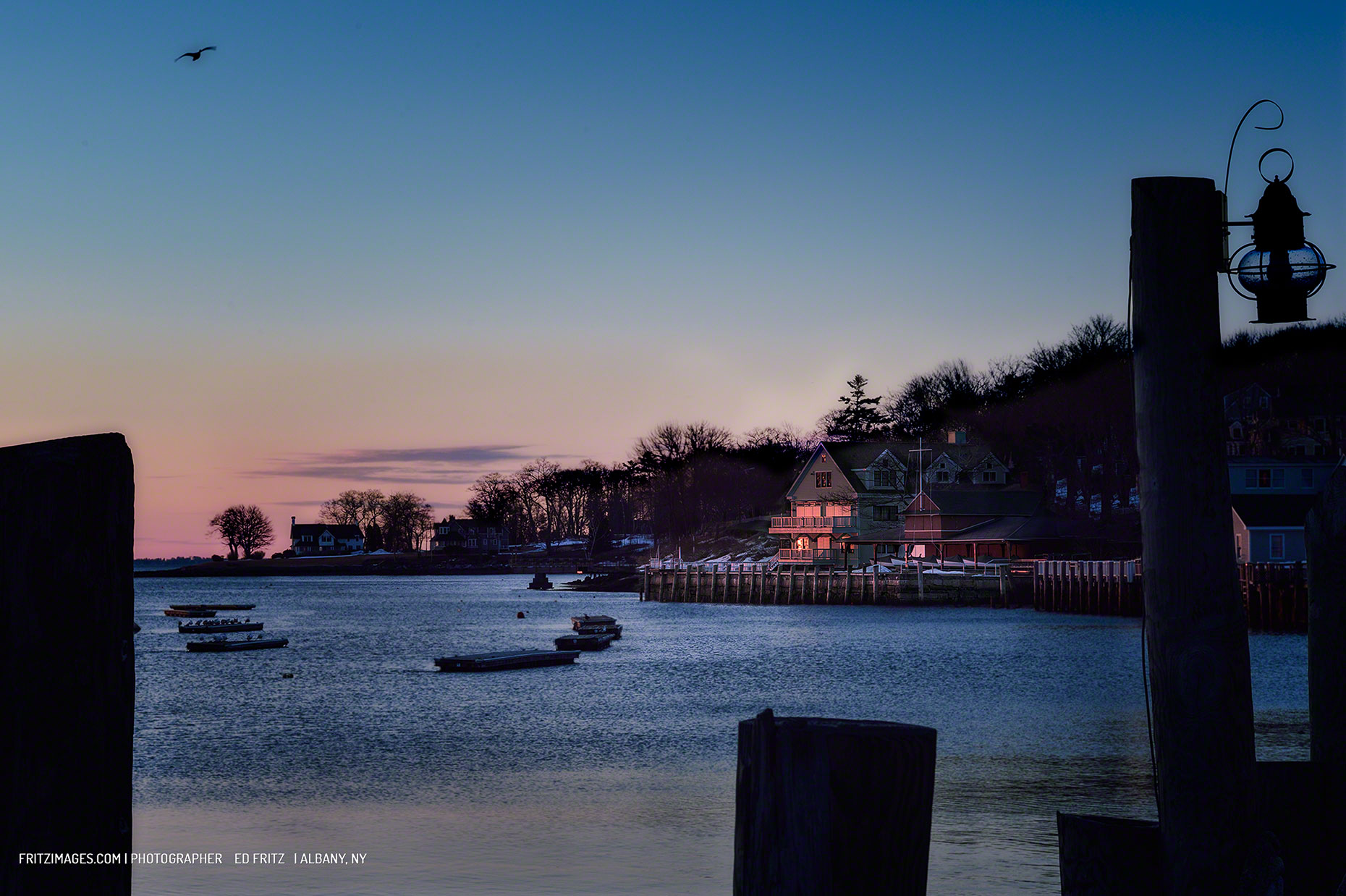 FritzImages | Travel and Outdoor Digital Images | image name = FIFP 0150331 Camden Harbor iop 1860