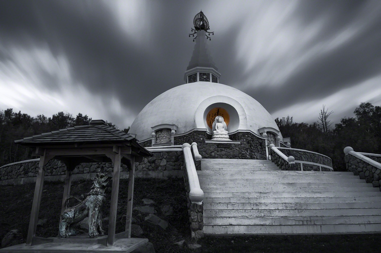 Image of Grafton Peace Pagoda by photographer Ed Fritz