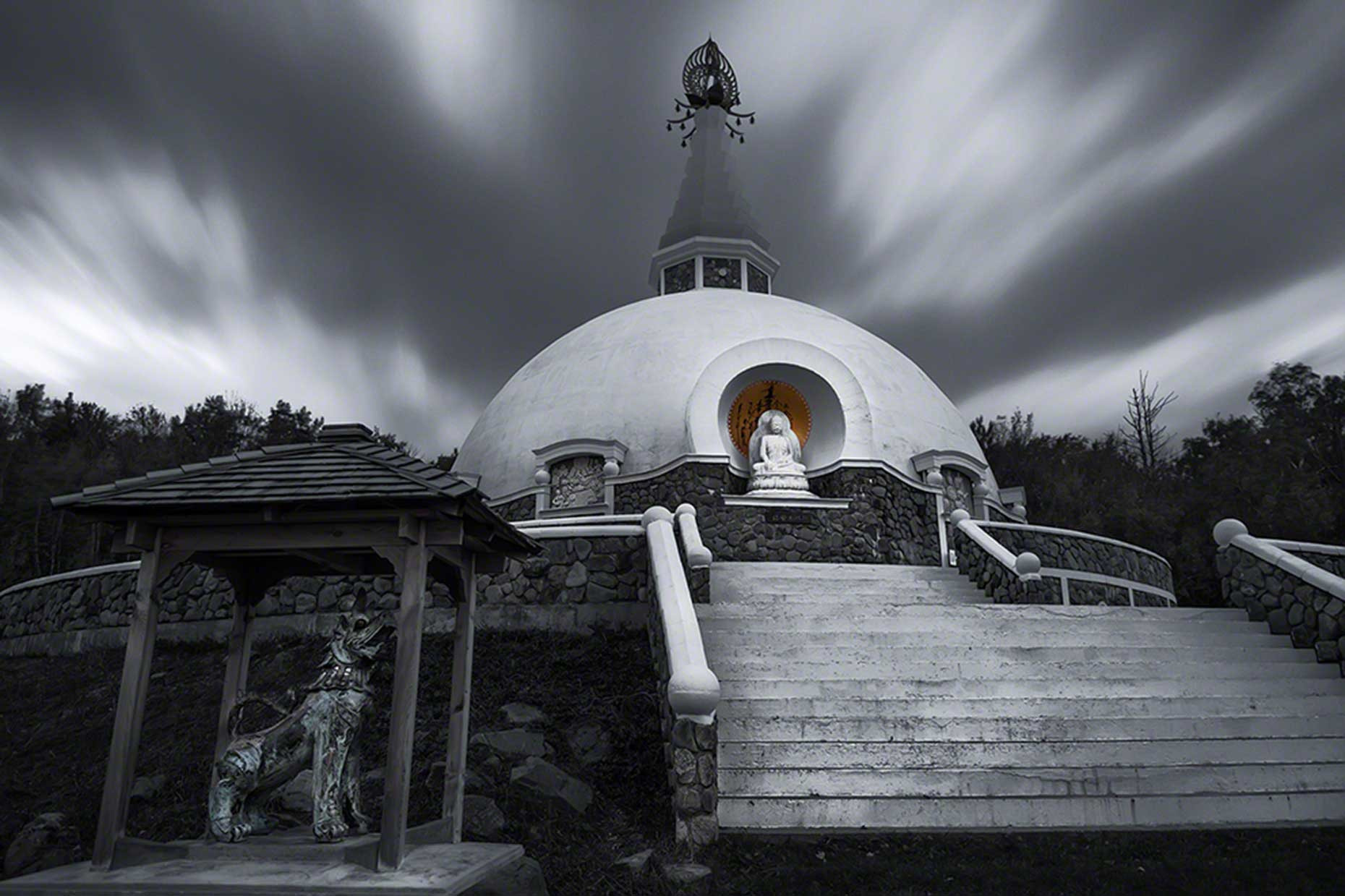FritzImages | Travel and Outdoor Digital Images | image name = FIFP 20141008 0147 NY Grafton Pagoda iop