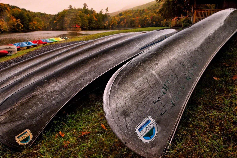 image of Emerald Lake Canoes by Ed Fritz
