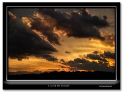 Fritzimages simple NY sunset