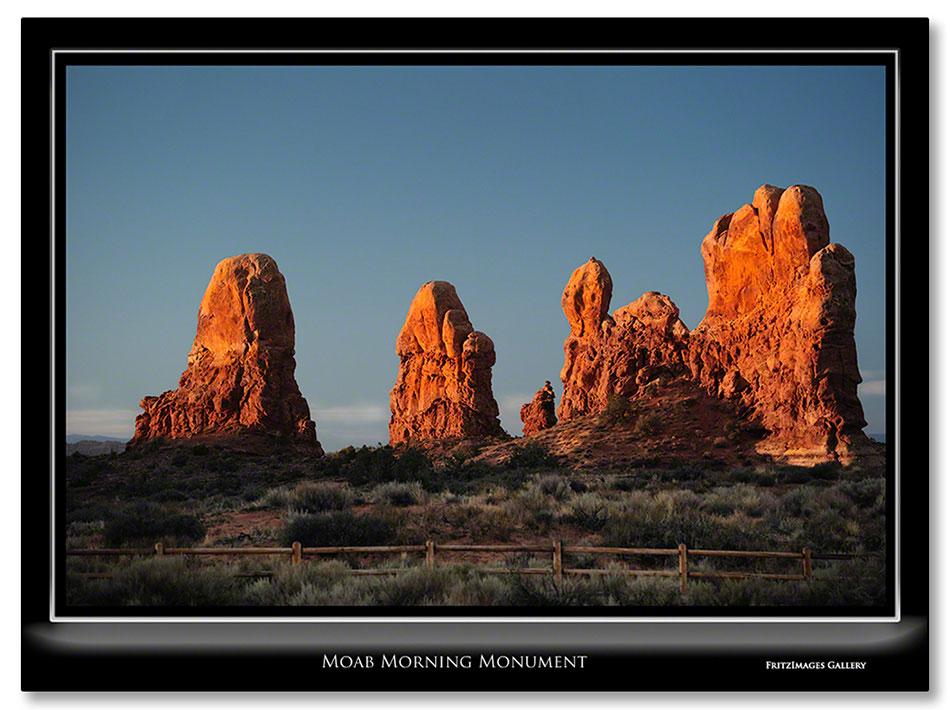 FritzImages | First Look Nikon SB 910 | image name = redo2 Moab Morning Monument