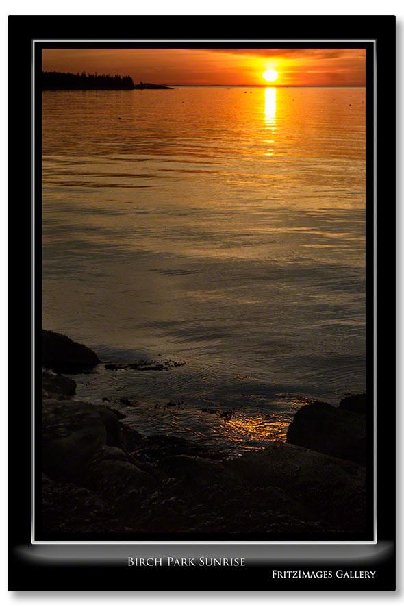 FritzImages   Whoville Sunset Tree   image name = Birch Park Sunrise