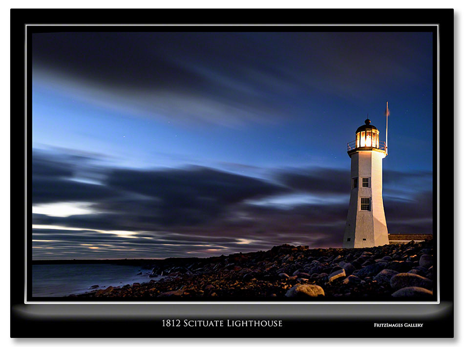 FritzImages | Ausable Chasm Revisited with DXOv8 | image name = 1812 Scituate lighthouse Io