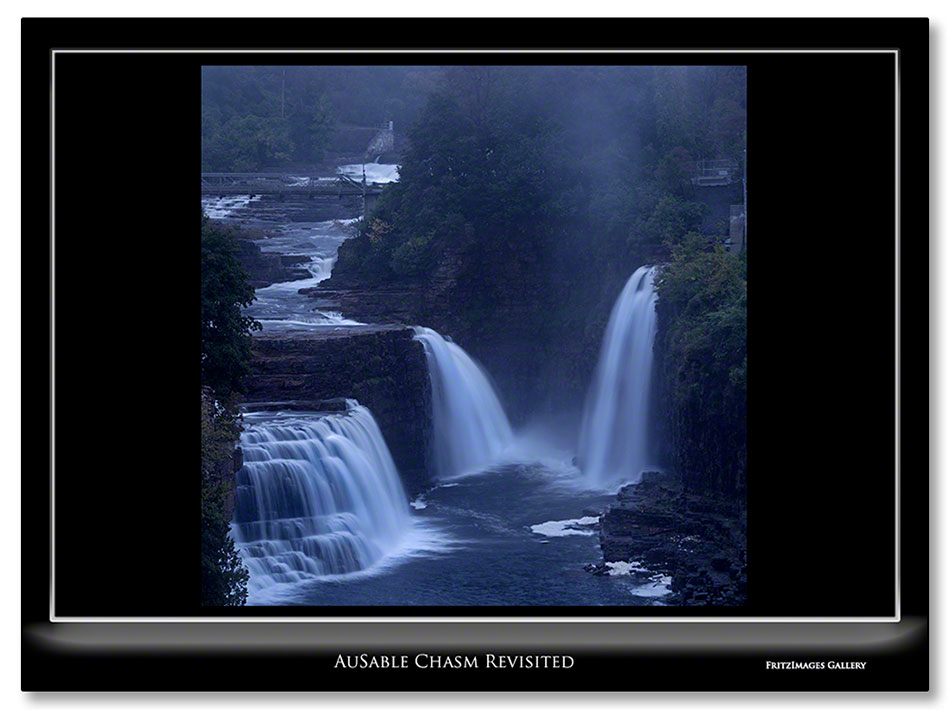 FritzImages | FritzImages October 2012 Gallery | image name = Ausable Chasm Revisted H IO