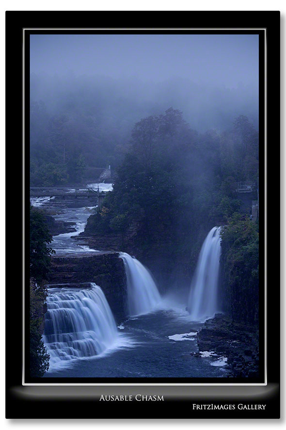 FritzImages | Ausable Chasm Revisited with DXOv8 | image name = Ausable Chasm Revisted V I0