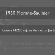 FritzImages | [Video] FlowPlayer 5 for WordPress | image name = FP 1930 Morane Saulnier 180x180