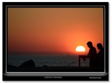 FritzImages | Review Firmtek SeriTek/5PM enclosure | image name = Couple Fishing IO 222x166