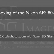FritzImages | Pocketwizard Plus X | image name = FP Unboxing of the Nikon 80 400 180x180