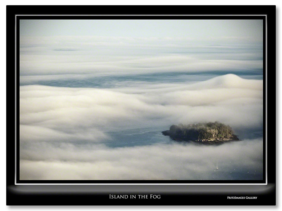 FritzImages | Moose Point State Park | image name = Fi 20130512 0026 Island in the fog IO