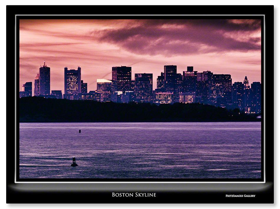 FritzImages | PrePare for Boston WS Parade | image name = FI 20131029 0205 MA 02 Boston Skyline IO