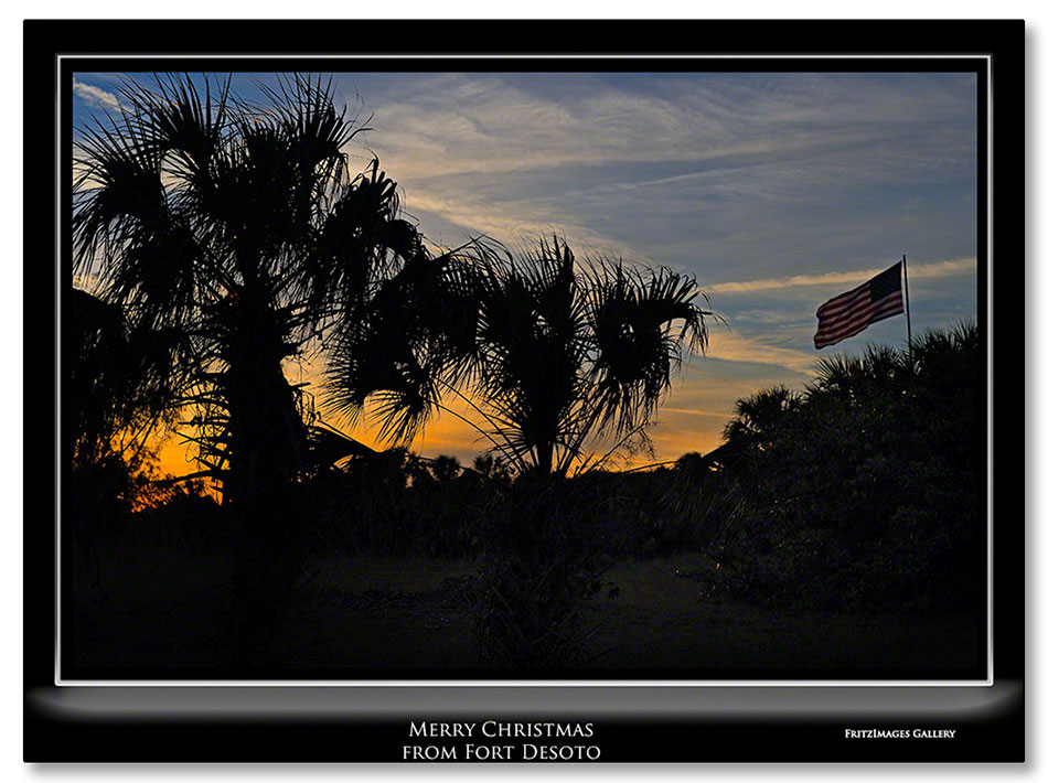 FritzImages | Holiday Berries | image name = FI 20131224 0200 FL 01 Tue Merry Christmas From Ft Desoto IO V2